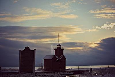 Channel Photograph - Winter Sky by Dawdy Imagery