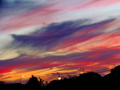 Photograph - Winter Sky by Joyce Woodhouse