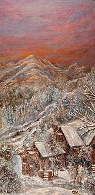 Winter Solace Print by Barbara Willms