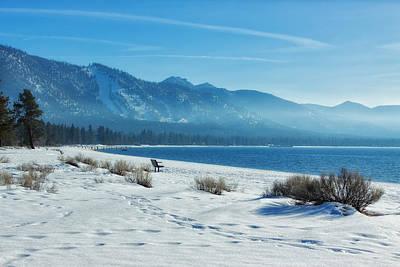 Winter Scenes Photograph - Winter Solitude by Kim Hojnacki