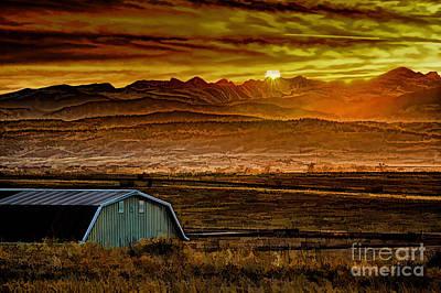 Winter Solstice Print by Jon Burch Photography