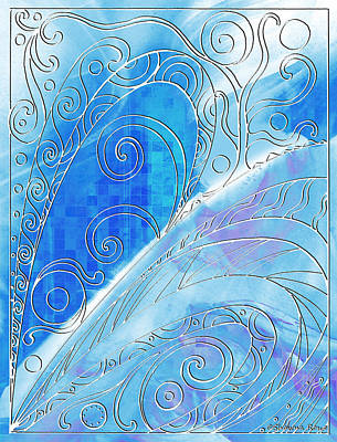 Winter Solstice  Print by Shawna Rowe