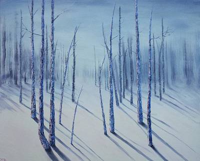 Winter Splendor Print by Xochi Hughes Madera