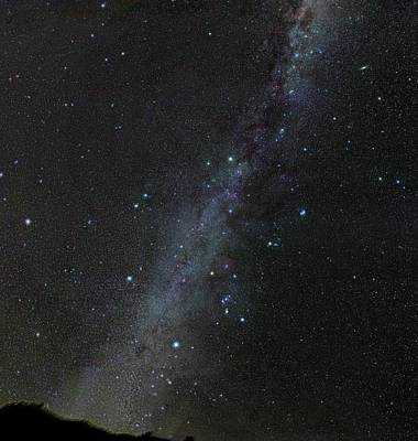Starfield Photograph - Winter Stars Without Light Pollution by Eckhard Slawik