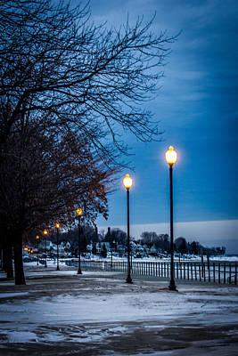 Winter Scene Photograph - Winter Stroll by Sara Frank