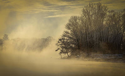 Tommytrout Photograph - Winter Sunrise On The Wisconsin River by Thomas Young