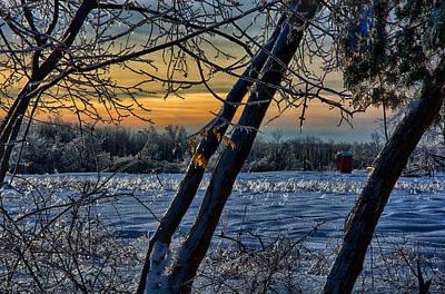 Ringo Photograph - Winter Sunrise by Ryan Crane