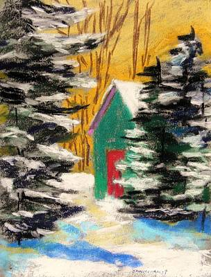 Winter Twilight Print by John Williams