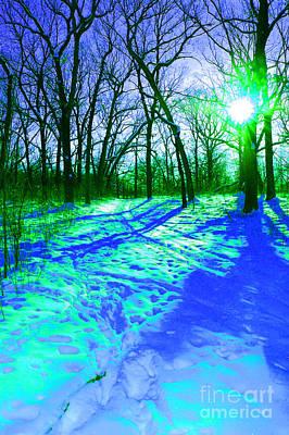 Winter Walk  Print by First Star Art