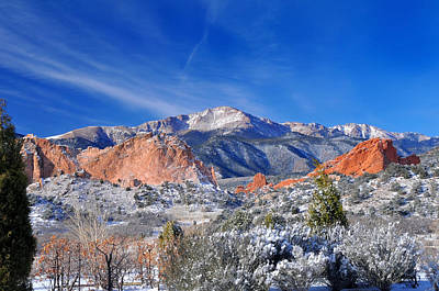 Rocky Mountains Photograph - Winter Wonderland In Colorado by John Hoffman