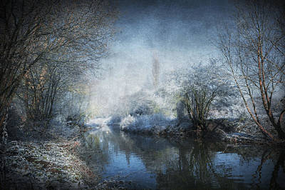 Snowy Digital Art - Winter Wonderland by Svetlana Sewell