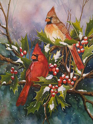 Winter Wonders Print by Cheryl Borchert