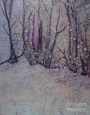 Winter Woods Original by Sari Sauls