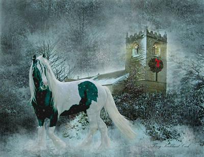 Gypsy Digital Art - Winter's Hope by Terry Kirkland Cook