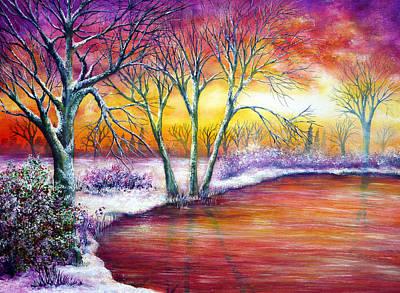 Winter's Song Print by Ann Marie Bone