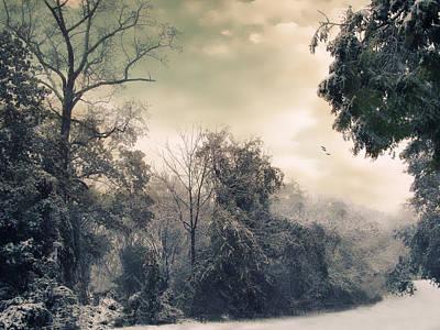 Christmas Digital Art - Winter's Tones by Jessica Jenney