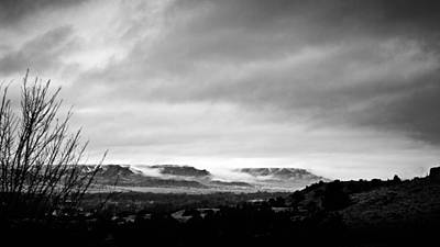 Bleak Desert Digital Art - Winterscape 11 A by Otri Park