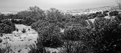 Bleak Desert Digital Art - Winterscape 12 by Otri Park