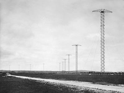 Bodmin Photograph - Wireless Telegraph Transmit by Underwood Archives