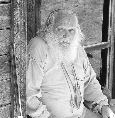 Old Barn Drawing Photograph - Wisdom Of The Ages by Mark Eisenbeil