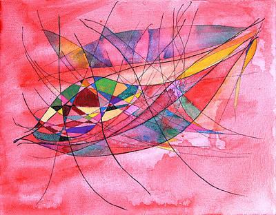 Manipura Painting - Wisdom Of The Heart - Abundance And Security - Raziel by Alla Ilencikova