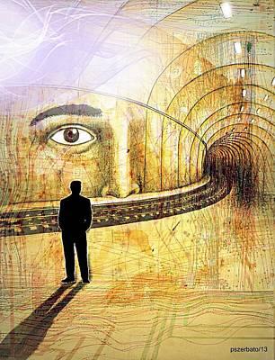 Moral Digital Art - Wisdom Underground - Healing Through Understanding II by Paulo Zerbato