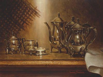 Prophetic Painting - Wise Men Still Seek Him by Graham Braddock