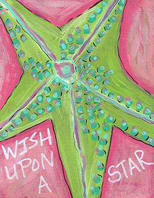 Galveston Painting - Wish Upon A Star by Catherine Lee