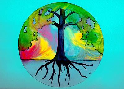 Wishing Tree Print by Brenda Owen