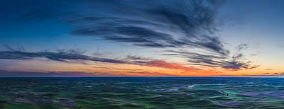 Sunset Photograph - Wispy Clouds Above The Palouse by Dan Mihai