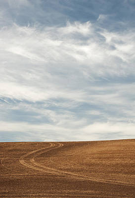 Wispy Clouds Print by Latah Trail Foundation