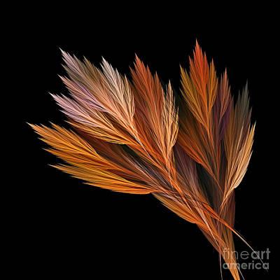 Wispy Tones Of Autumn Original by Kaye Menner