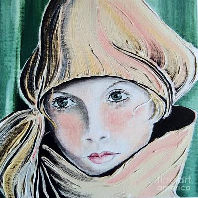 Missing Child Painting - Wistful by Barbara Chase