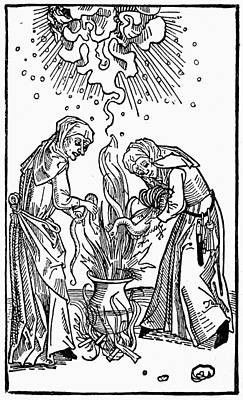 Witches, 1508 Print by Granger