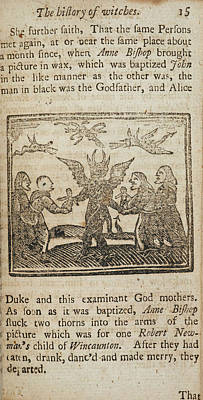 18th Century Photograph - Witches And Demonology by British Library