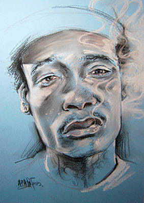 Wiz Painting - Wiz by Abraham Caride