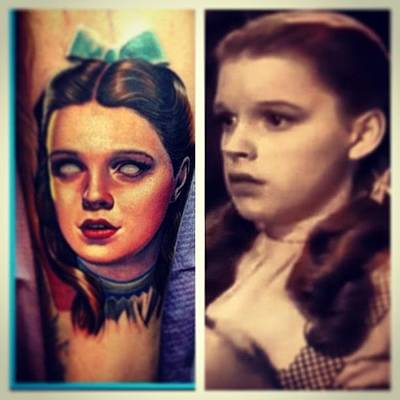 Wizard Photograph - #wizard Of Oz #tattoo #art#picture Of by Wes Sloan