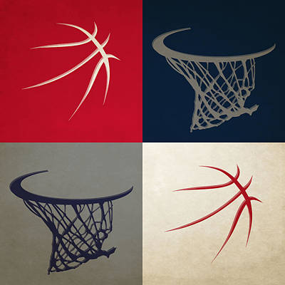 Basket Photograph - Wizards Ball And Hoop by Joe Hamilton