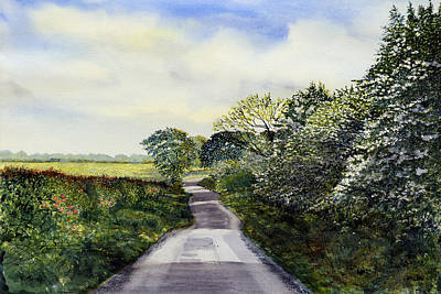 Hockney Painting - Woldgate - Late Spring by Glenn Marshall