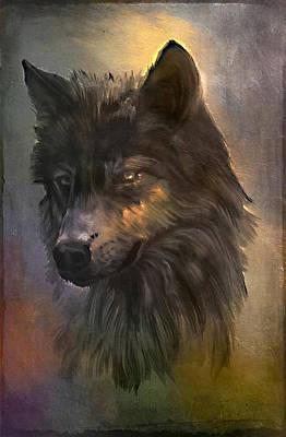 Wolf.  Original by Andrzej Szczerski