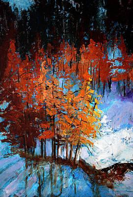Wolf Country Original by Nancy Merkle