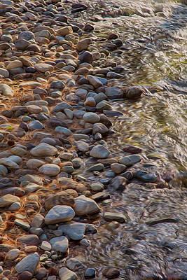 Wolf Creek Upstream Print by Omaste Witkowski