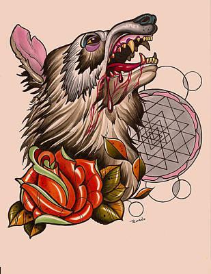 Wolf Original by Matt Truiano