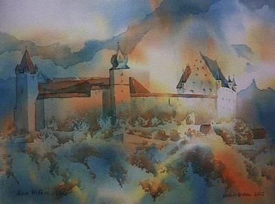 Wolkenschloss Original by Thomas Habermann
