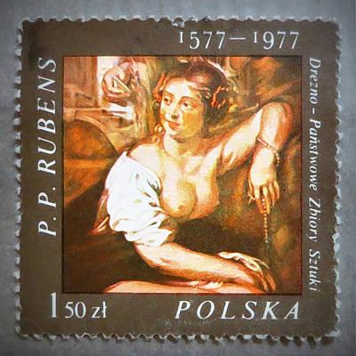 Peter Paul Rubens Digital Art - Woman By Rubens by Patricia Januszkiewicz