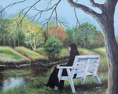 Woman In Black Original by Susan DeLain