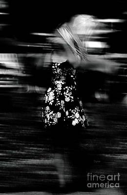 Woman In Dress  Print by Steven  Digman