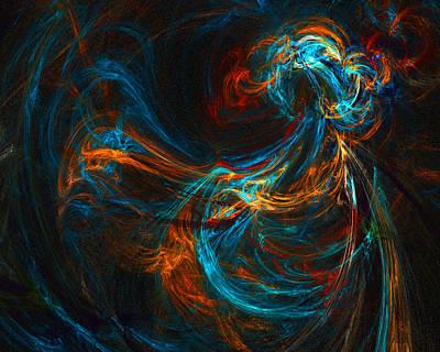 Digital Art - Woman Of Spirit by R Thomas Brass
