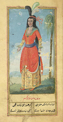 Of Woman Photograph - Woman Of The East Indies by British Library
