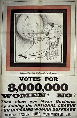 Suffrage Painting - Women's Rights, C1917 by Granger